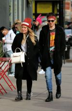 HILARY DUFF and Matthew Koma Out Shopping in New York 12/20/2017