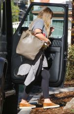 HILARY DUFF Out and About in Los Angeles 12/12/2017