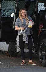 HILARY DUFF Out in Los Angeles 12/12/2017