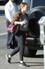 HILARY DUFF Picks Up Lunch in Los Angeles 11/30/2017