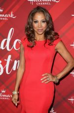 HOLLY ROBINSON PEETE at Christmas at Holly Lodge Screening in Los Angeles 12/04/2017