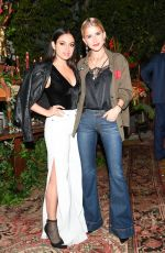 INANNA SARKIS at Aalice & Olivia Denim Launch Party in Los Angeles 11/30/2017