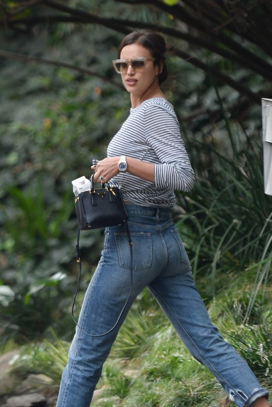 IRINA SHAYK in Jeans Out in Los Angeles 12/10/2017