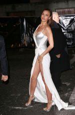 IRINA SHAYK Leaves Fashion Awards 2017 in London 12/04/2017