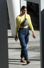 IRINA SHAYK on the Set of a Photoshoot at Miami International Airport 12/02/2017