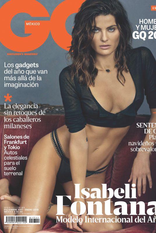 ISABELI FONTANA in GQ Magazine, Mexico December/January 2017/2018
