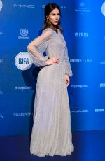 ISABELLA CHARLOTTA POPPIUS at British Independent Film Awards in London 12/10/2017