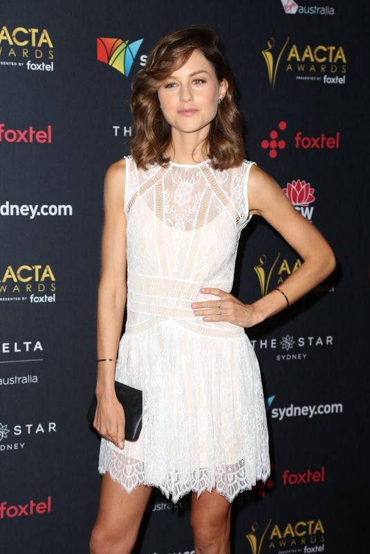ISABELLE CORNISH at Australian Academy Cinema Television Arts Awards Luncheon in Sydney 12/04/2017