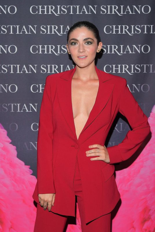 ISABELLE FUHRMAN at Christian Siriano