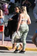 ISKRA LAWRENCE in Tights Out in Miami 12/12/2017