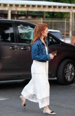 ISLA FISHER Shopping at Bristol Farms in Los Angeles 12/10/2017