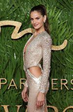 IZABEL GOULART at British Fashion Awards 2017 in London 12/04/2017