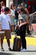 IZABEL GOULART Heading to Airport in Fernando De Noronha 12/30/2017