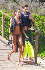 IZABEL GOULART in Bikini at a Beach in Fernando De Noronha 12/26/2017