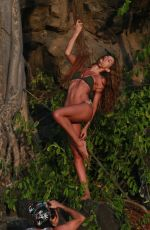 IZABEL GOULART in Bikini oin the Set of a Photoshoot at Fernando De Noronha 12/26/2017