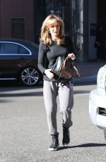 JACLYN SMITH Out and About in Beverly Hills 12/29/2017