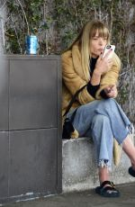JAIME KING Chats on Her Cell Phone in Beverly Hills 12/21/2017
