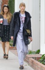JAIME KING Leave Alfred Coffee in West Hollywood 12/23/2017