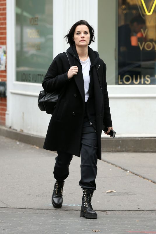 JAIMIE ALEXANDER Out for Lunch at Shuka in New York 12/03/2017