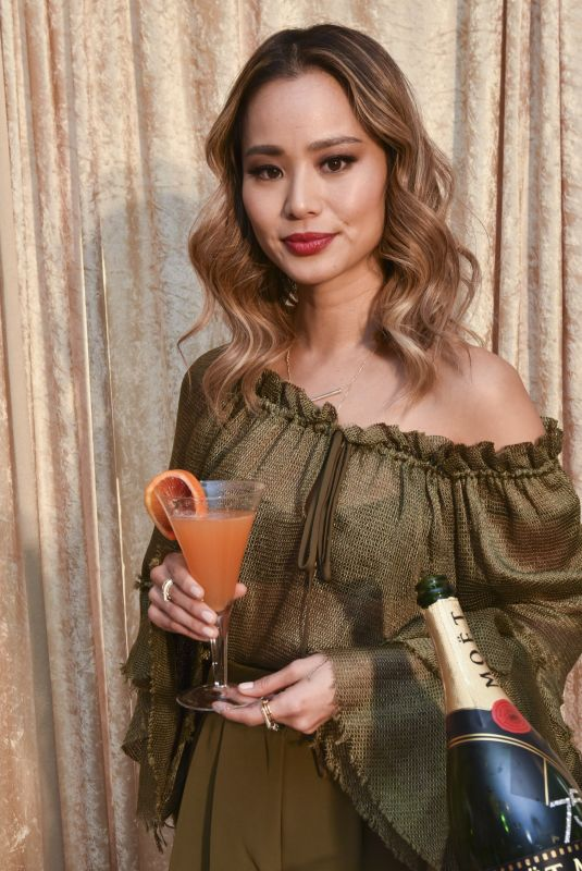 JAMIE CHUNG at Beverly Hilton Hotel in Beverly Hills 12/14/2017