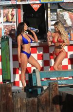 JAMIE LEIGH and KINSEY WOLANSKI in Bikinis on the Set of 138 Water Photoshoot 12/06/2017
