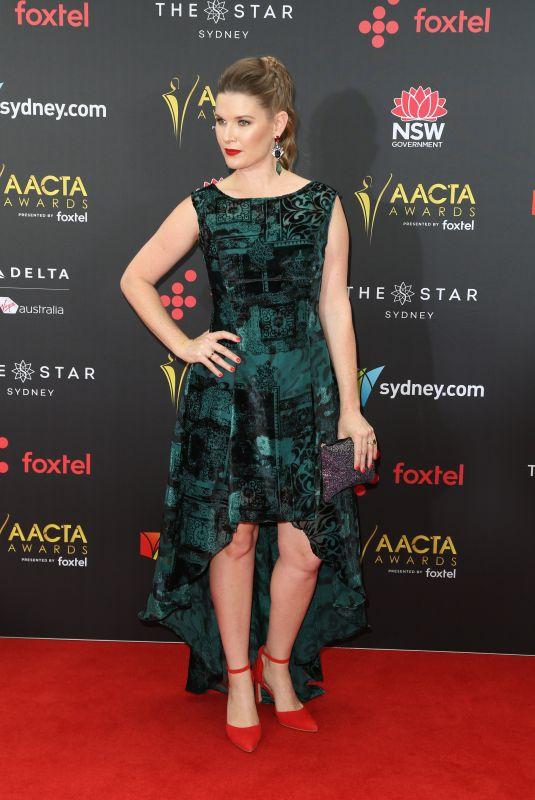 JANA WILKES at 2017 AACTA Awards in Sydney 12/06/2017