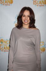 JANE DACAL at Once on This Island Broadway Openingh Night in New York 12/03/2017