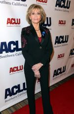 JANE FONDA at Aclu Socal