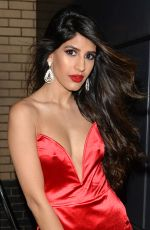 JASMIN WALIA Arrives at Her Record Label Christmas Party in London 12/16/2017