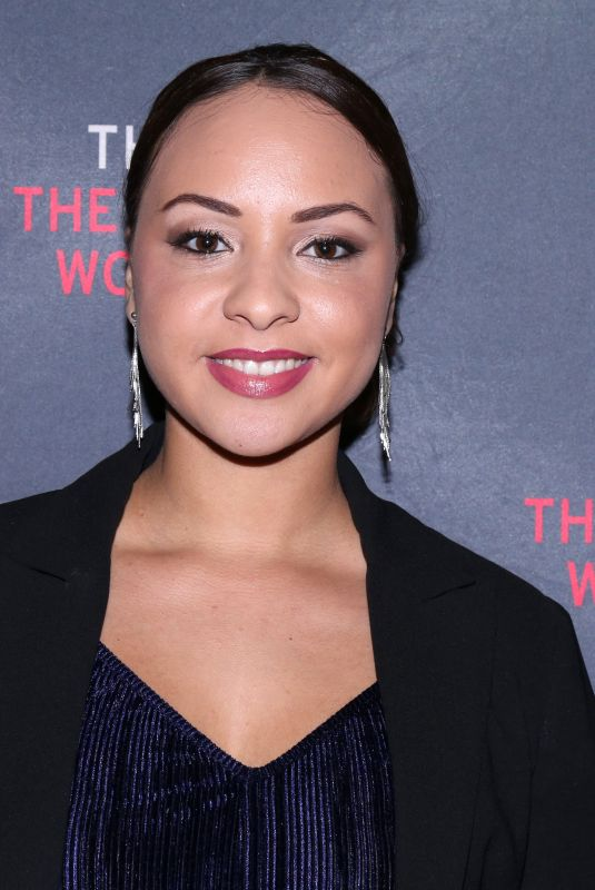 JASMINE CEPHAS JONES at The Parisian Woman Opening Night in New York 11/30/2017