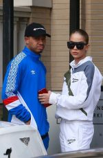 JASMINE SANDERS and Terrence J Out Shopping in Beverly Hills 12/24/2017