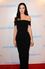 JAYDE NICOLE at Animal Equality Global Action Annual Gala in Los Angeles 12/02/2017