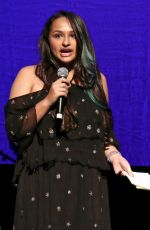JAZZ JENNINGS at 7th Annual Cyndi Lauper and Friends Home for the Holidays Benefit Concert in New York 12/09/2017