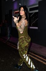 JEMMA LUCY at Vanilla Bar in Manchester 12/30/2017