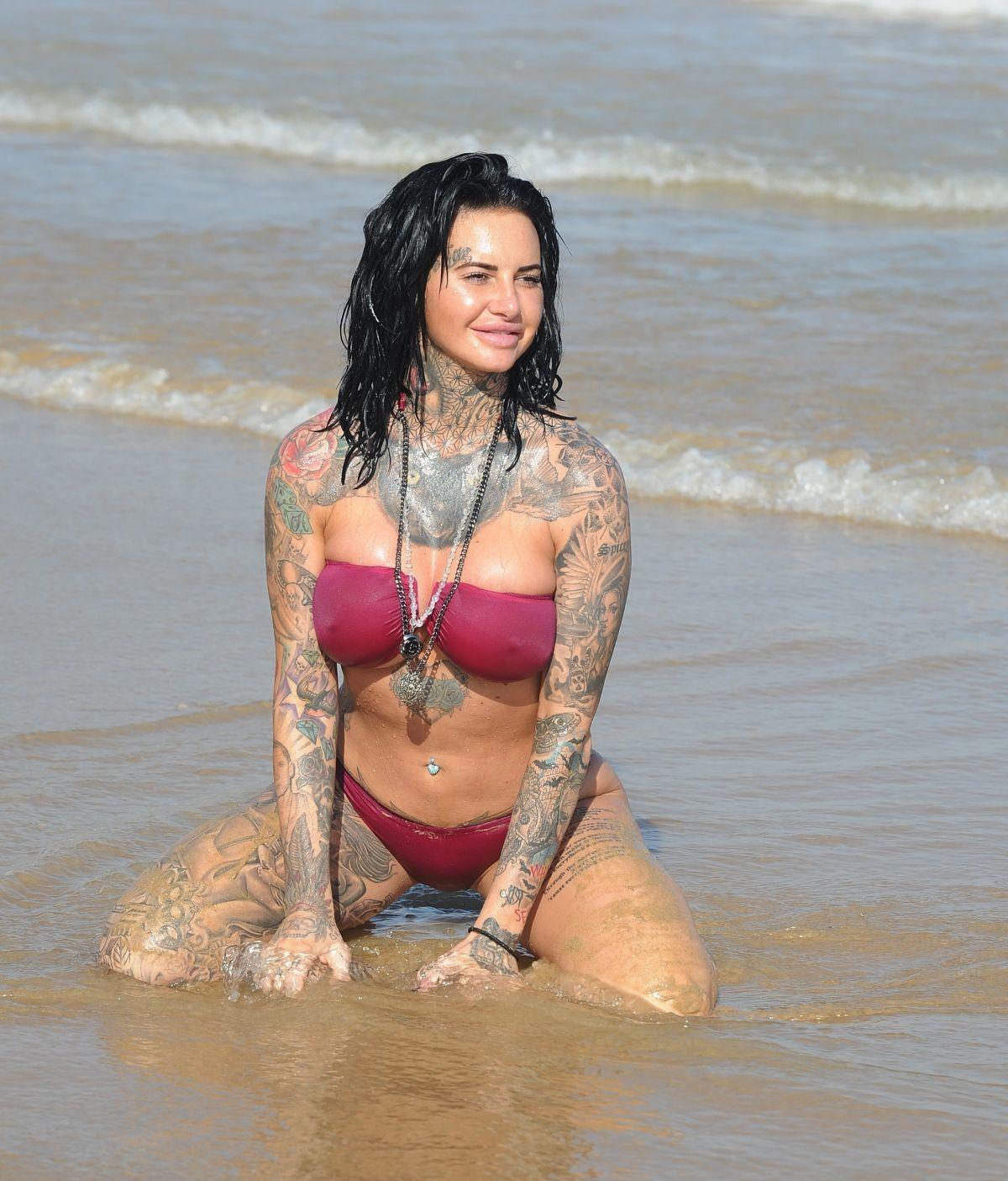 Jemma Lucy in Bikini on the beach in Gran Canaria Pic 15 of 35