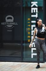 JEMMA LUCY Leaves a Gym in Manchester 12/23/2017