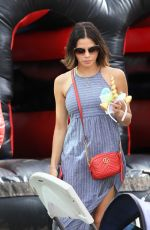 JENNA DEWAN Out and Los Angeles 12/10/2017