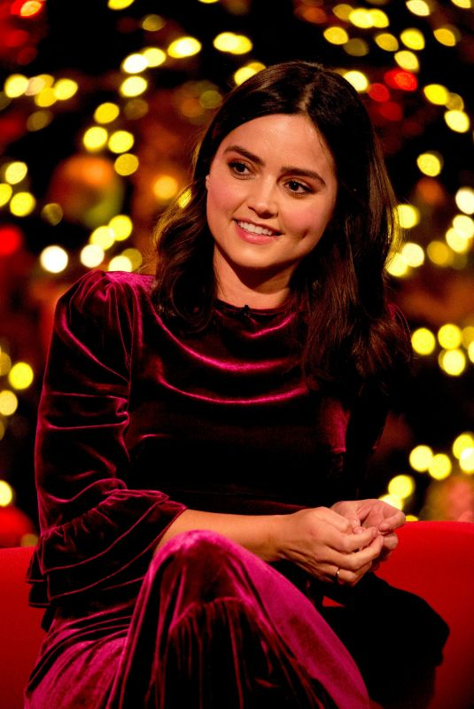 JENNA LOUISE COLEMAN at Graham Norton Show in London, December 2017