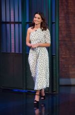 JENNA LOUISE COLEMAN at Late Night with Seth Myers in New York 12/12/2017