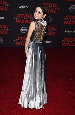 JENNA ORTEGA at Star Wars: The Last Jedi Premiere in Los Angeles 12/09/2017