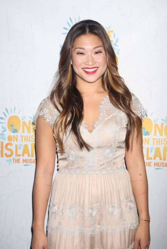 JENNA USHKOWITZ at Once on This Island Broadway Openingh Night in New York 12/03/2017