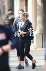 JENNIE GARTH Leaves a Gym in Los Angeles 12/26/2017