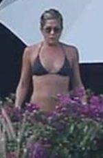 JENNIFER ANISTON in Bikini at a Pool in Cabo San Lucas 12/30/2017