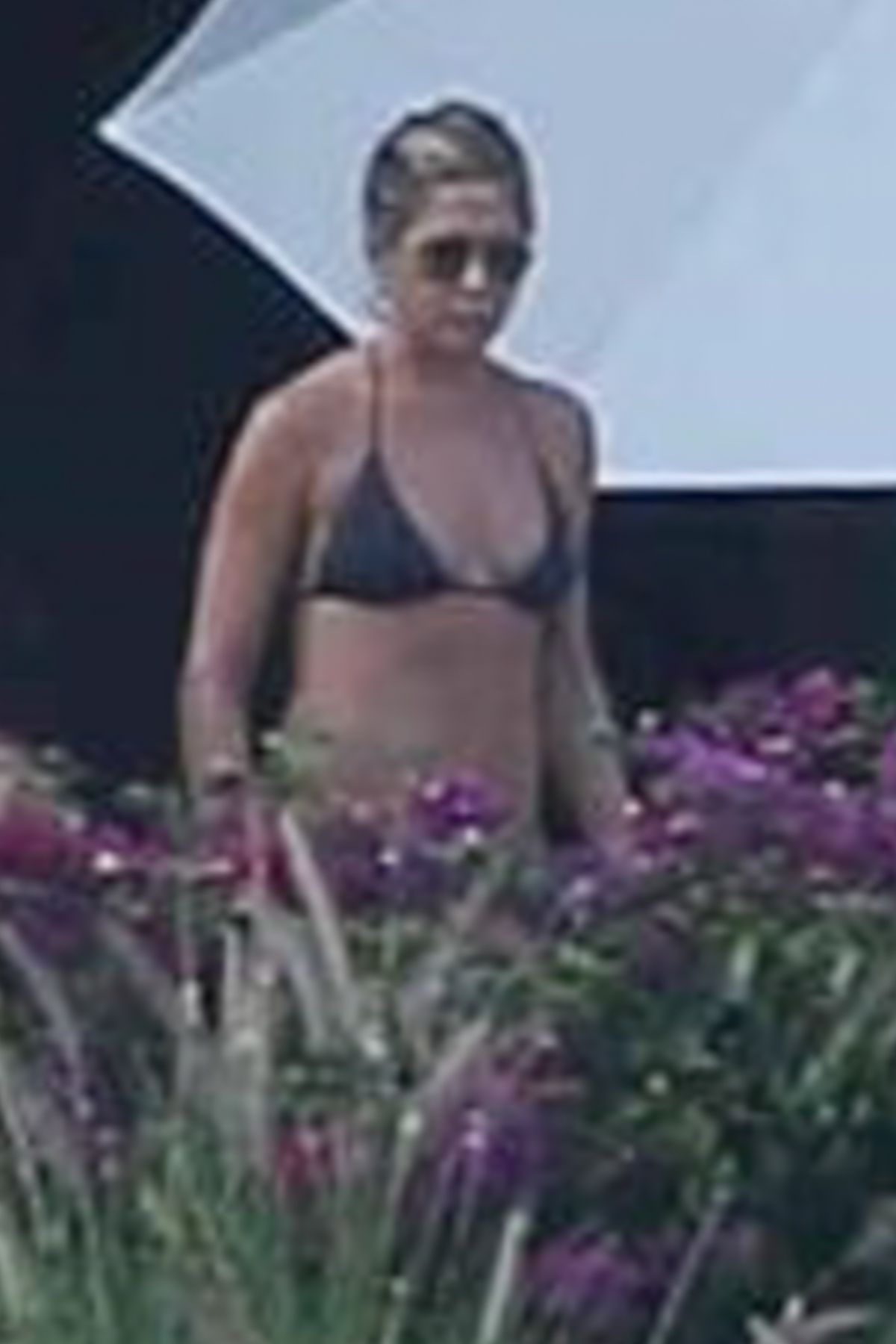 JENNIFER ANISTON in Bikini at a Pool in Cabo San Lucas 12/30/2017