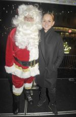 JENNIFER ELLISON at a Christmas Light Switch On Events in Blackpool 12/02/2017