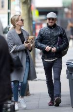 JENNIFER LAWRENCE and Darren Aronofsky Out in New York 12/20/2017