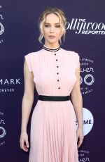 JENNIFER LAWRENCE at Hollywood Reporter's 2017 Women in Entertainment Breakfast in Los Angeles 12/06/2017