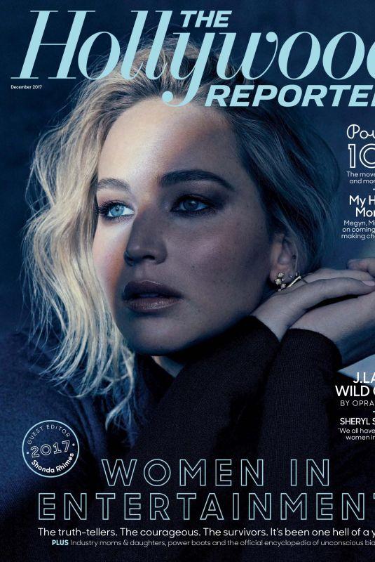 JENNIFER LAWRENCE for The Hollywood Reporter, December 2017
