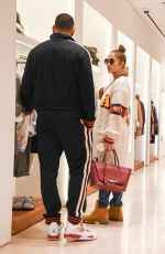 JENNIFER LOPEZ and Alex Rodriguez Out Shopping in Los Angeles 12/27/2017