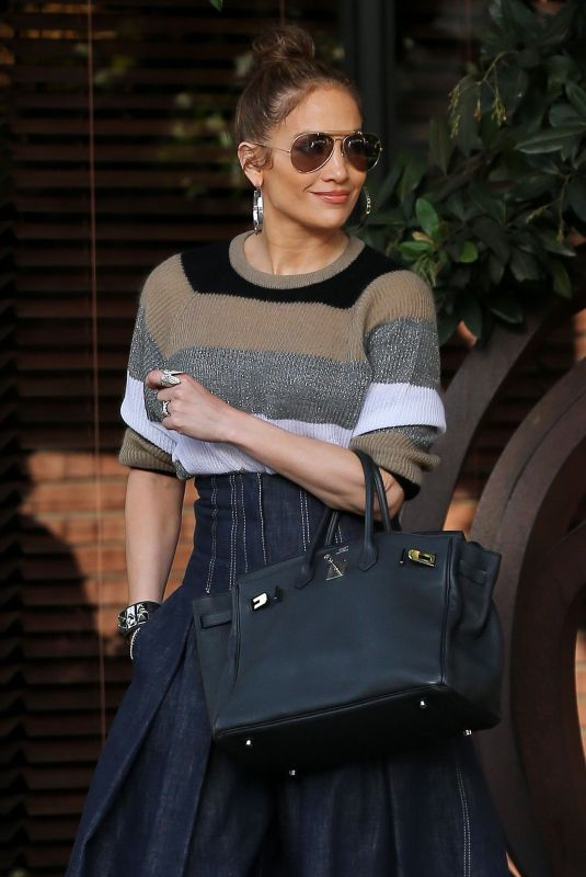 JENNIFER LOPEZ Out in Beverly Hills 12/29/2017
